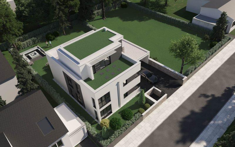 Begrünte Dachflächen