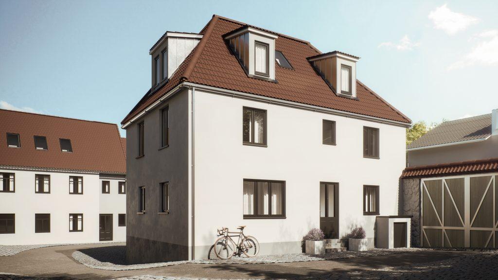 Kirchenpforte Einfamilienhaus Mainz-Bretzenheim